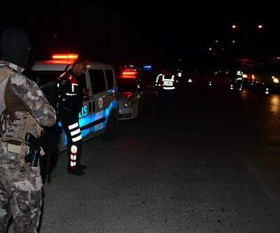 Polis tarafından aranan 30 kişi 'şok uygulama'da yakalandı