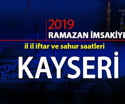 Kayseri iftar saati 2019: Diyanet Kayseri iftar vakitleri cnnturk.com'da!