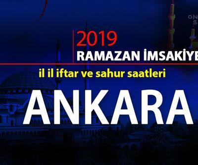 Ankara iftar saatleri… Diyanet Ankara 2019 Ramazan imsakiyesi