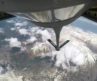 MSB'den havada yakıt ikmali paylaşımı
