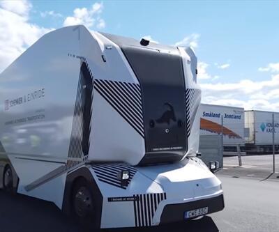 """İsveç'te """"sürücüsüz kamyon"""" dönemi"""
