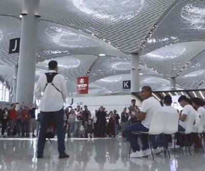 İstanbul Havalimanı'nda 19 Mayıs Atatürk'ü Anma Gençlik ve Spor Bayramı etkinliği