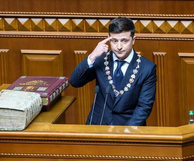 Ukrayna'nın yeni Cumhurbaşkanı Zelenskiy erken seçim ilan etti