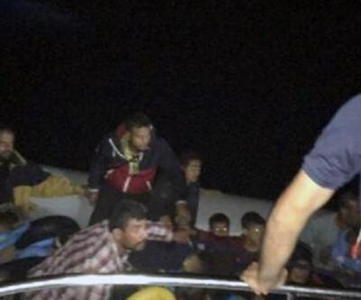 Didim açıklarında 43 kaçak yakalandı