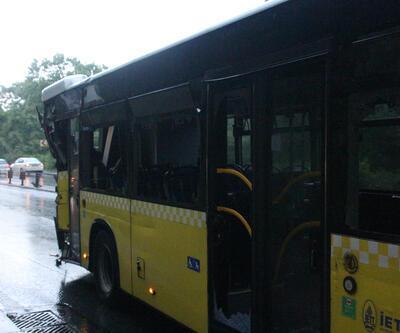Sarıyer'de zincirleme trafik kazası: 2 yaralı