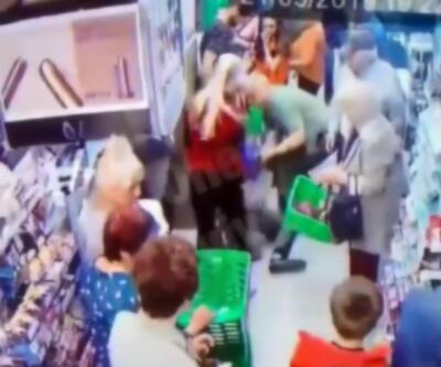 Ukrayna'da korkunç olay: Markette çocuğun boynunu kırmaya çalıştı