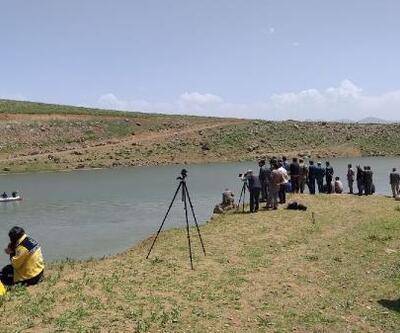 Baraj gölünde kaybolan Evin'i arama çalışmaları sürüyor