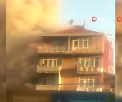 Kadıköy Fikirtepe'de yangın! Ölü ve yaralılar var