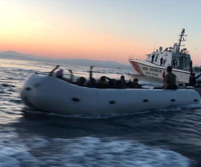 Didim'de 25 düzensiz göçmen yakalandı