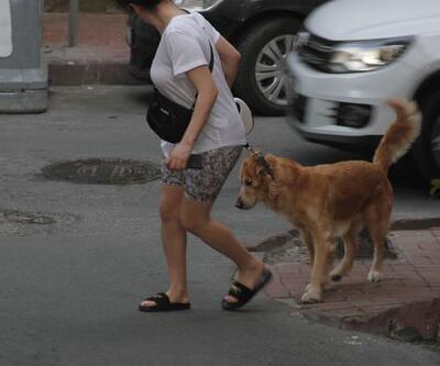 Dilan Çıtak Tatlıses'in köpeğiyle imtihanı