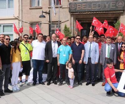 Öğrenciler milli maç için Antalya'da