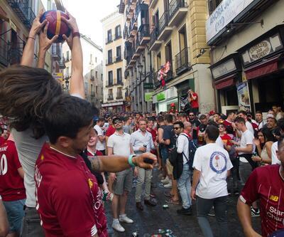 Madrid'de 5 İngiliz taraftar gözaltına alındı