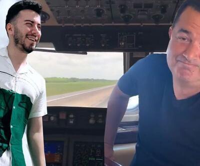 Enes Batur, Acun Ilıcalı ile uçaktan paylaşım yaptı