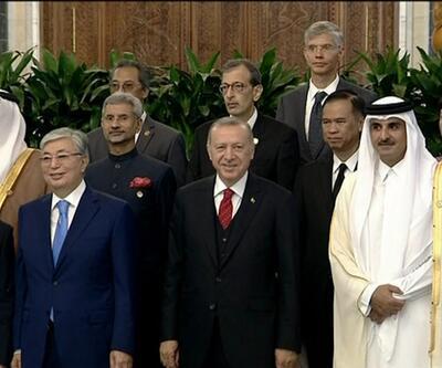 Erdoğan İran, Rusya ve Çin liderleriyle görüştü