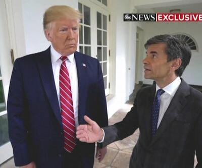 Donald Trump'tan öksürük tepkisi