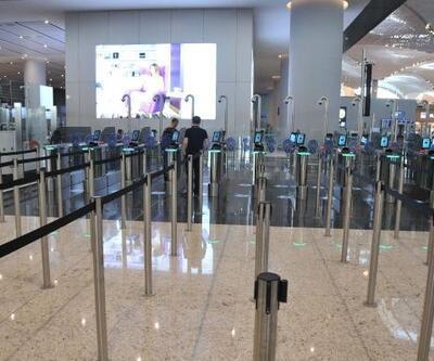 İstanbul Havalimanı'nda pasaporttan 18 saniyede geçiş hazırlığı