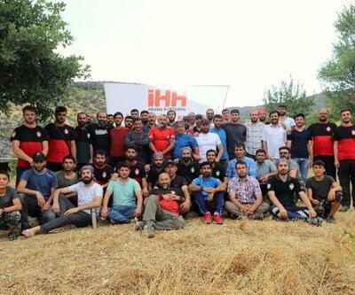 Diyarbakır'da İHH'dan arama ve kurtarma eğitimi