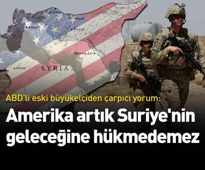 Amerika artık Suriye'nin geleceğine hükmedemez
