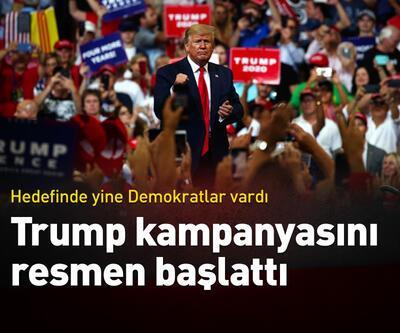 Trump kampanyasını resmen başlattı