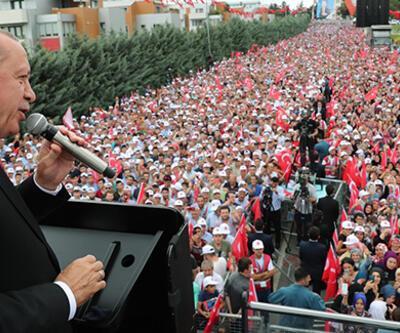 Son dakika... Cumhurbaşkanı Erdoğan'dan Sancaktepe'de önemli açıklamalar