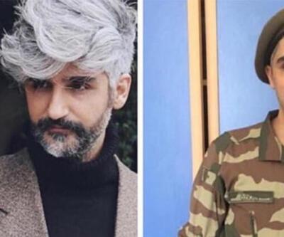 Manuş Baba'nın askerlik fotoğrafı sosyal medyayı salladı
