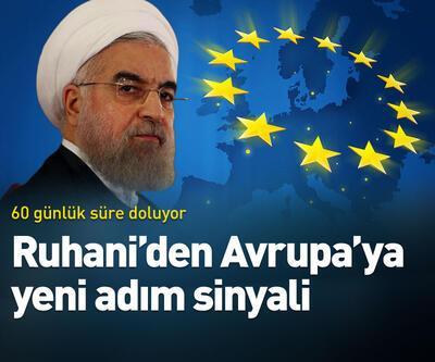 Ruhani'den Avrupa'ya yeni adım sinyali