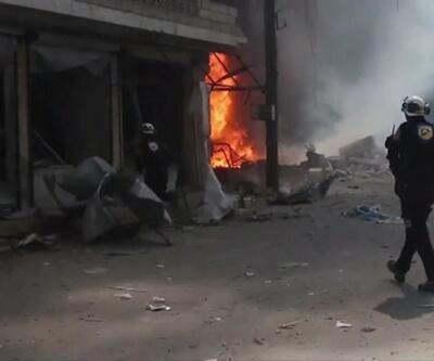 Esad rejimi saldırıya devam ediyor