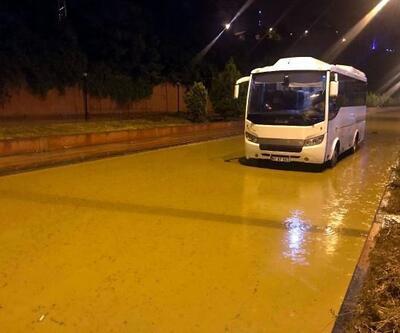 Zonguldak'ta gece yağmur etkili oldu