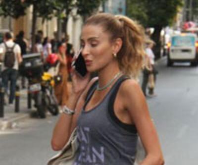 Özge Ulusoy'un sokak tarzı