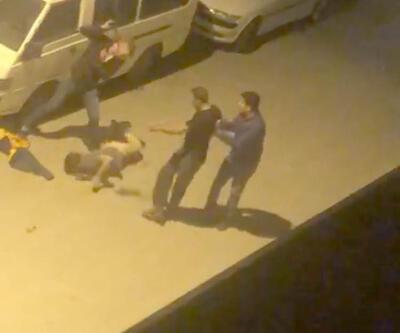 Sokak ortasında kemer ve sopayla dövdüler