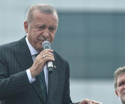 Cumhurbaşkanı Erdoğan'dan Bahçelievler'de önemli açıklamalar