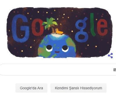 21 Haziran gündönümü Google'a doodle oldu!