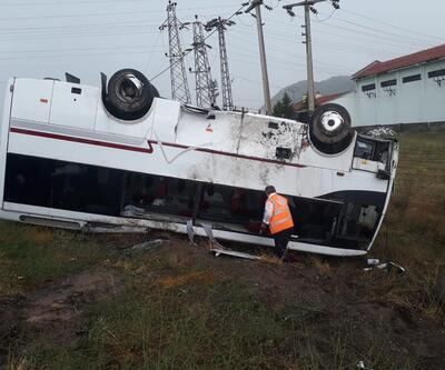Son dakika... Nevşehir'de kaza: 27 turist yaralandı