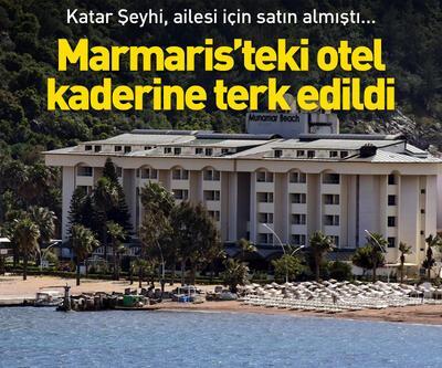 Marmaris'teki otel kaderine terk edildi