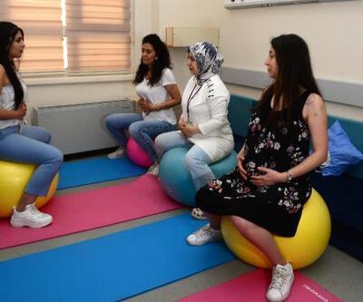 Bu okula sadece hamileler girebiliyor