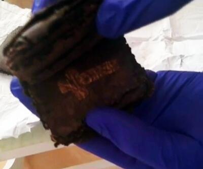 Bursa'da 2 bin yıllık İncil ele geçirildi; 4 gözaltı