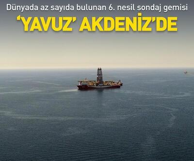 'Yavuz' Akdeniz'de