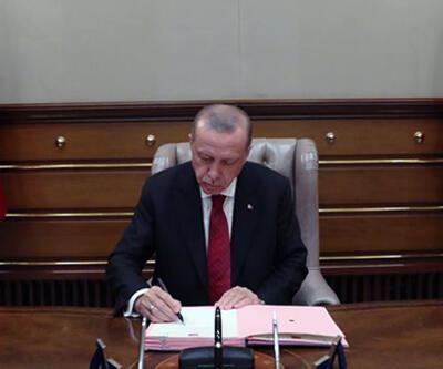 Son dakika: Cumhurbaşkanı Erdoğan yeni Askerlik Kanunu'nu onayladı