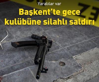Ankara'da gece kulübüne silahlı saldırı