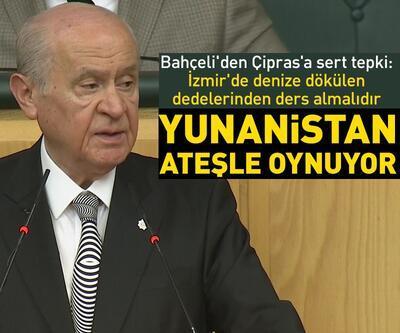 MHP lideri Bahçeli'den Çipras'a sert tepki