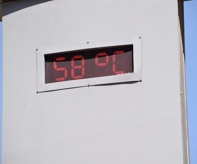 Şanlıurfa'da termometreler 58 dereceyi gösterdi