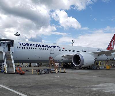 THY'nin ilk 'rüya uçağı' İstanbul Havalimanı'na indi