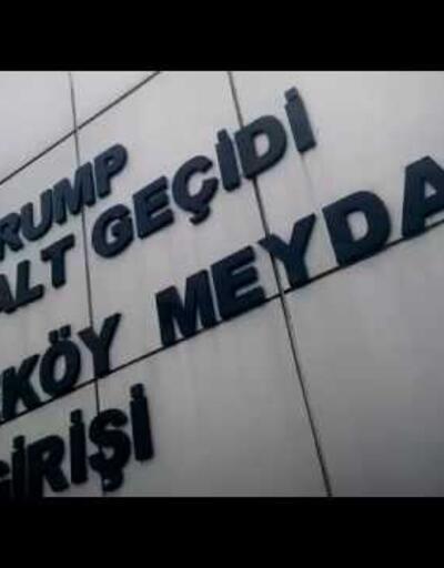İBB karar aldı, Trump Yaya Alt Geçidi'nin ismi değişiyor