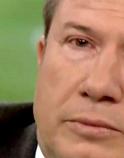 Tanju Çolak gözyaşlarını tutamadı