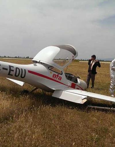 AtlasGlobal Havayolları'nın eğitim uçağı düştü
