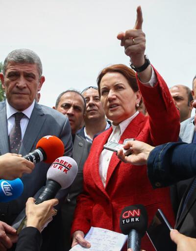 """Meral Akşener: """"Hukuksuz talimat anayasal suçtur, gereğini yapmak üzere burada olacağız"""""""