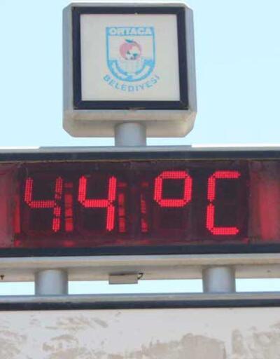 Termometreler 44 dereceyi gösterdi