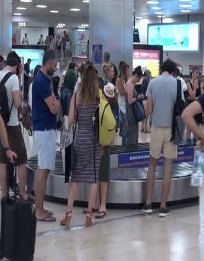 Havalimanında bagaj kavgası