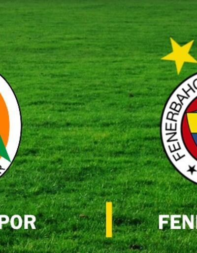 Canlı: Alanyaspor-Fenerbahçe maçı izle (Süper Lig)