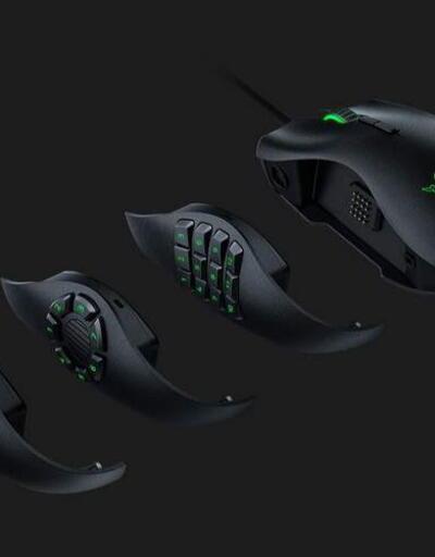 Razer Naga Trinity özelleştirilebilir yapısı ile dikkat çekiyor